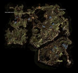 Spellscarred Orcs Quest Map