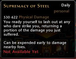 Supremacy of Steel