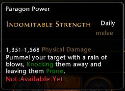 Indomitable Strength