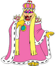 Peach Royal Koopa