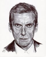 File:Doctor who peter capaldi ink portrait by natemichaels-d9aaoqq.jpg