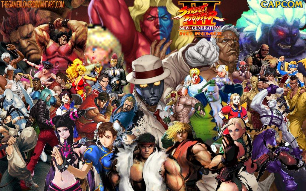 Street fighter iii hd remix fantendo wiki fandom - Street fighter 2 wallpaper hd ...