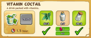Vitamin coctail 2017