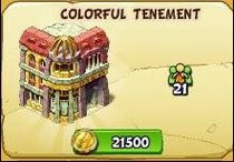 Colorful tenement new
