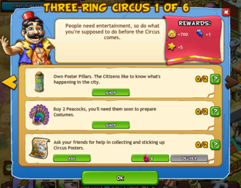 Three-ring circus 1 of 6