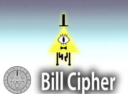 Bill Cipher Character Stand