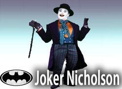 Joker NicholsonCharacter Stand