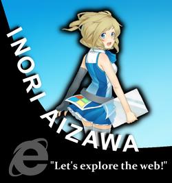 Inori Aizawa Character Portrait