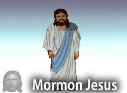 Mormon Jesus Character Stand