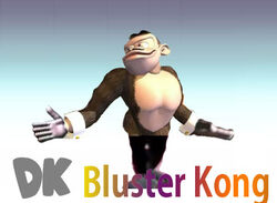Bluster Kong Character Stand
