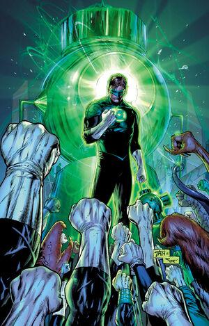 Green Lantern 21 Textless