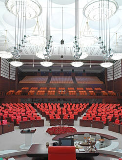 Navonian Parliament Interior