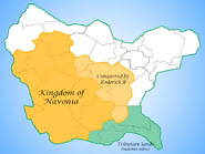 Navonian Kingdom under Roderick II
