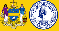 Flag of New Yonkers and Philadelphia