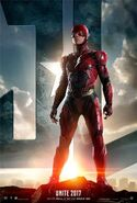JL The Flash Poster