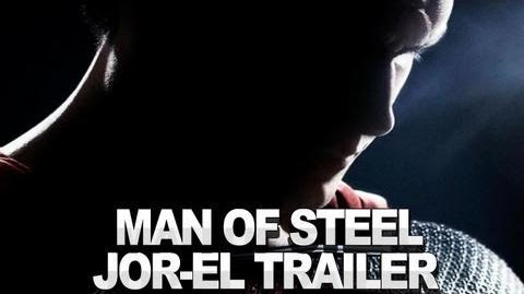 Man of Steel - Jor-El Trailer