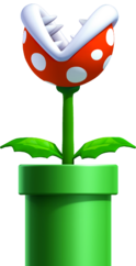 Piranha Plant, New Super Mario Bros. U