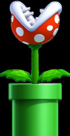 File:Piranha Plant, New Super Mario Bros. U.png