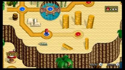 Newer Super Mario Bros. Wii 100% World 2 - Soggy Sewers Rubble Ruins-0