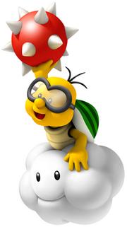 Lakitu Artwork (New Super Mario Bros. Wii)