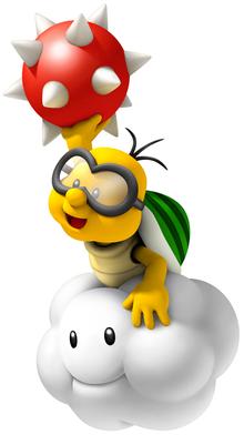 File:Lakitu Artwork (New Super Mario Bros. Wii).png