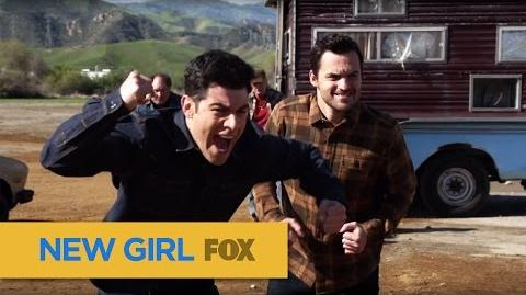 """NEW GIRL Get Ready To Rumble from """"Road Trip"""" FOX BROADCASTING"""