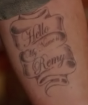 Remys tattoo