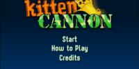 Kitten Cannon!