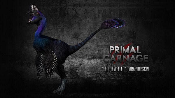 Blue Jewelled Oviraptor