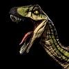 Primal Carnage Ivy Striped Novaraptor logo 1
