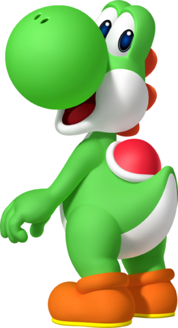 File:Yoshi Artwork - Mario Party Island Tour.png