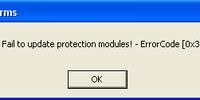 HackShield Error Code 0x30000090
