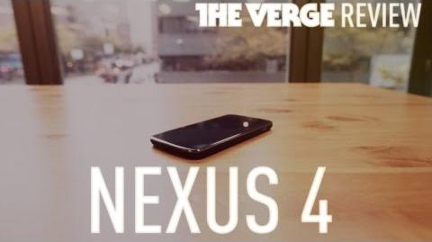 Nexus 4 hands-on review (The Verge)