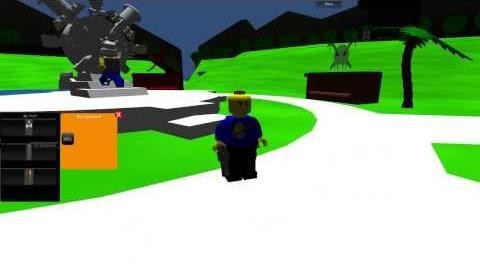 LEGO Galaxy Pre-Alpha - Character Create Test