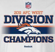2011 AFC West Champions
