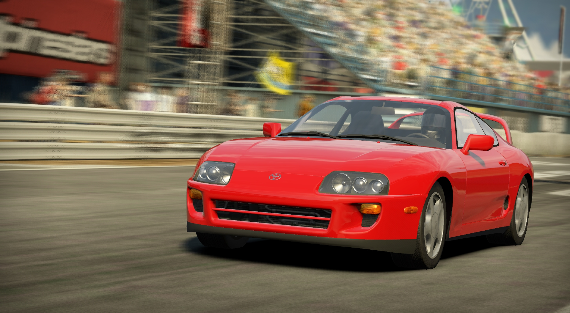 Wallpaper Toyota Supra Sports Car Need For Speed: Toyota Supra RZ (Mk4)
