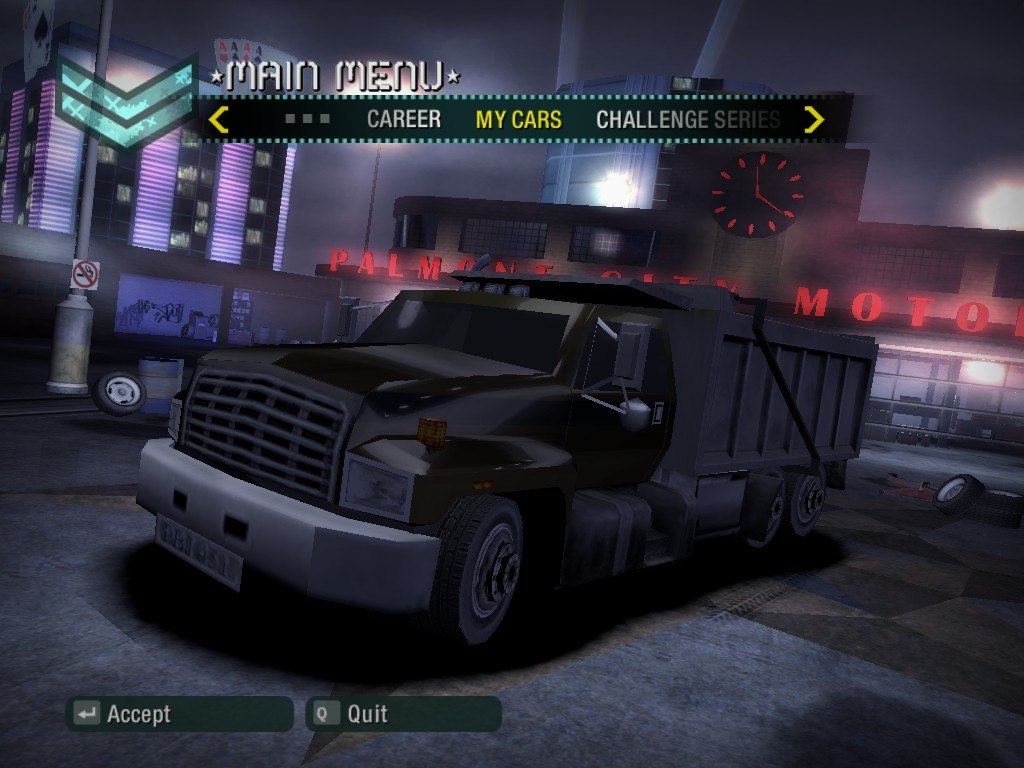 dump truck need for speed wiki fandom powered by wikia. Black Bedroom Furniture Sets. Home Design Ideas