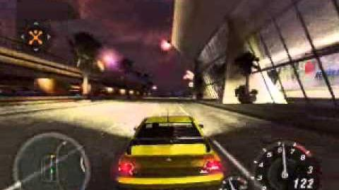 Sound of the Mitsubishi Evo in Need for Speed Underground 2