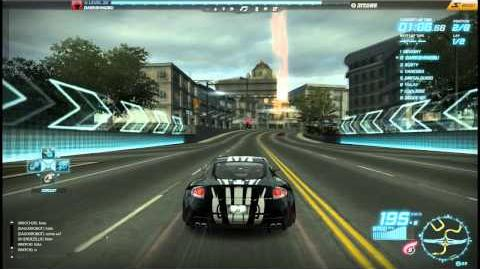 """NFS World - Circuit """"North Road"""" - Single Player - 16"""