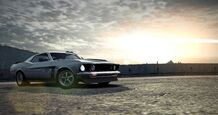 CarRelease Ford Mustang Boss 302 (1969) White 2