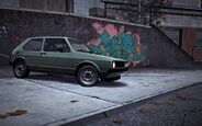 CarRelease Volkswagen Golf MK1 GTI Green 2
