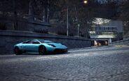 CarRelease Lamborghini Murciélago LP 670-4 Super Veloce Blue 3