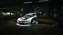 Garage BMW Z4 GT3 Easter Edition