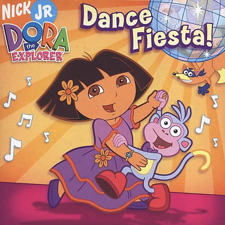 File:Dora the Explorer Dance Fiesta! CD.jpg