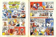 Sam Hill and Ray-9 Nickelodeon Magazine comic November 1995