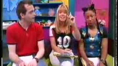 Nickelodeon UK - Continuity with Lucy Alexander - 1997 - 5-0