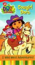 Dora the Explorer Cowgirl Dora VHS