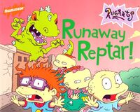 Rugrats Runaway Reptar! Book