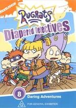 Rugrats Diapered Detectives UK DVD