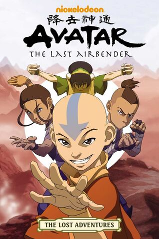 File:Avatar The Last Airbender The Lost Adventures Book.jpg